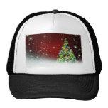 Christmas Tree Holiday Peace Love Destiny Hats