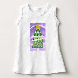 Christmas Tree Hotel Baby Dress