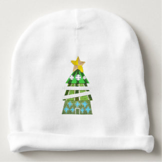 Christmas Tree Hotel Baby Hat Baby Beanie