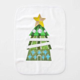 Christmas Tree Hotel Burp Cloth