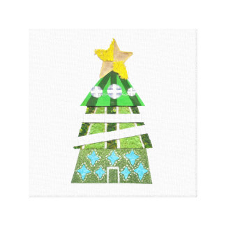 Christmas Tree Hotel Canvas