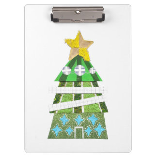 Christmas Tree Hotel Clipboard