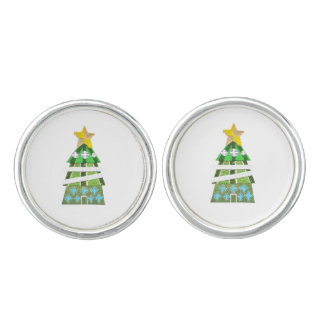 Christmas Tree Hotel Cufflinks