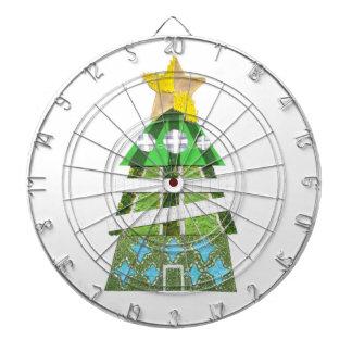Christmas Tree Hotel Dartboard