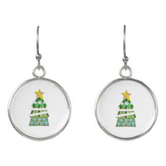 Christmas Tree Hotel Drop Earrings