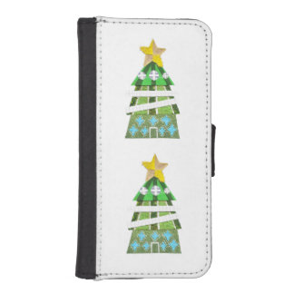 Christmas Tree Hotel I-Phone 5/5s Wallet Case