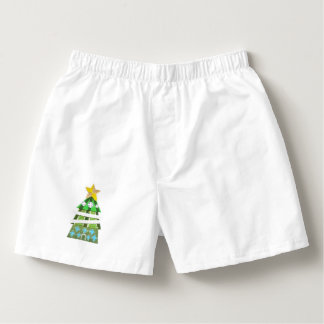 Christmas Tree Hotel Men's Boxers