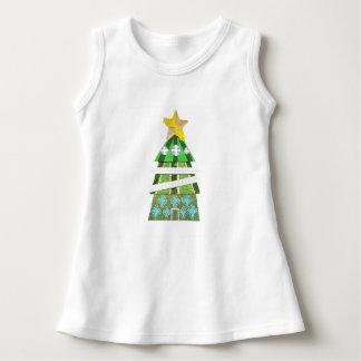 Christmas Tree Hotel No Background Baby Dress