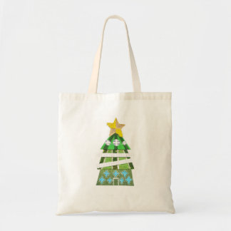 Christmas Tree Hotel No Background Bag