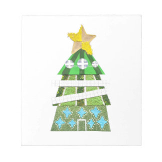 Christmas Tree Hotel Notepad