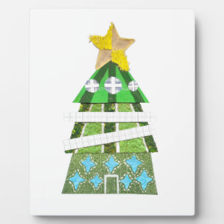 Christmas Tree Hotel on an Easel Plaque
