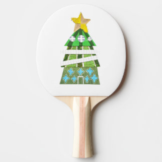 Christmas Tree Hotel Ping Pong Bat Ping Pong Paddle