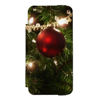 Christmas Tree I Holiday Pretty Green and Red Incipio Watson™ iPhone 5 Wallet Case