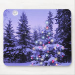 Christmas Tree in the Forest Mousepad