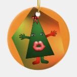Christmas tree kiss christmas tree ornaments