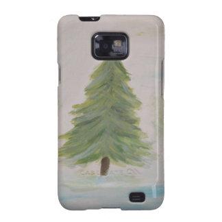 Christmas Tree landscape image Galaxy SII Case