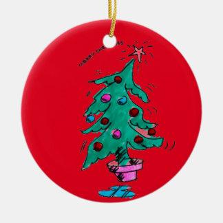Christmas Tree - Merry Christmas Christmas Ornament
