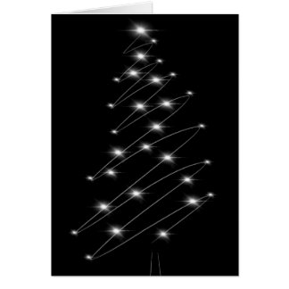 Christmas Tree Minimalist Christmas Card