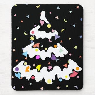Christmas tree mouse pads