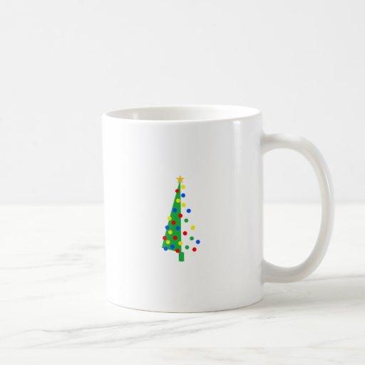 Christmas Tree Coffee Mugs