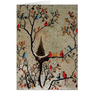 Christmas Tree Nest ~ Cards