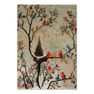 Christmas Tree Nest ~  Invitations