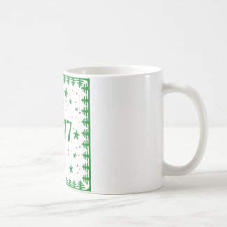 Christmas tree New year mug. Coffee Mug
