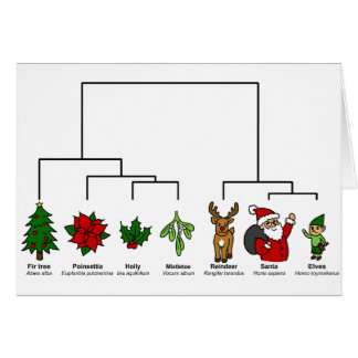 Christmas Tree of Life Greeting Card