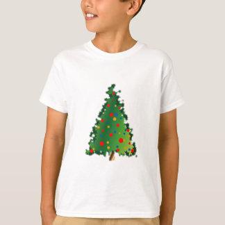 Christmas Tree on Kid's Tee Shirt