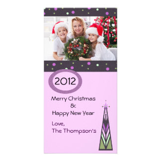 Christmas Tree One Photo Card