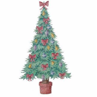 Christmas tree original art Photo Sculpture