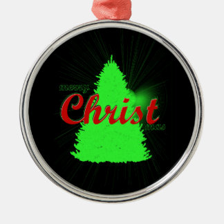 CHRISTmas tree ornament green tree framed