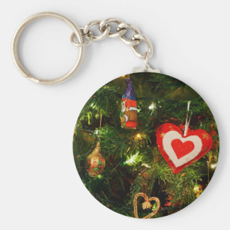Christmas tree ornaments keychains