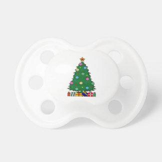 Christmas Tree Pacifiers