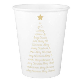Christmas Tree Paper Cups