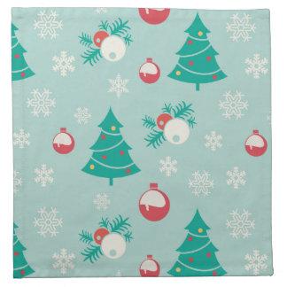 Christmas Tree Pattern Napkin