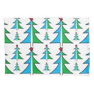 Christmas Tree Pattern Pillowcase