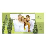 Christmas Tree Photo card