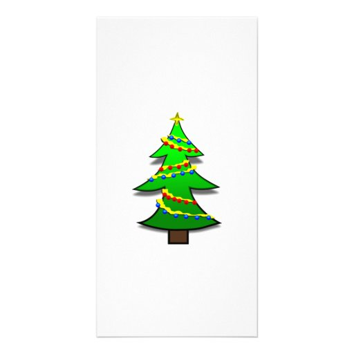 Christmas Tree Picture Card