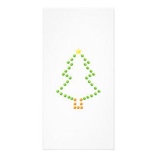 Christmas Tree Customized Photo Card