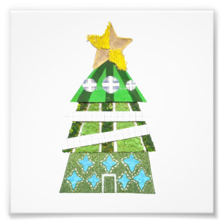 Christmas Tree Photo Poster