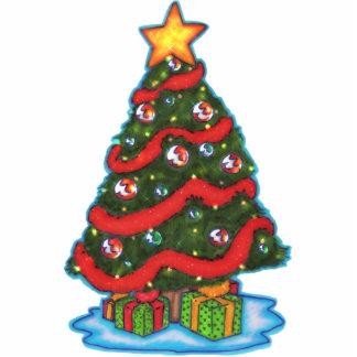 "Christmas Tree ""Photo Sculpture"" Standing Photo Sculpture"