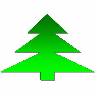Christmas Tree Photo Sculpture Key Ring