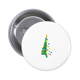 Christmas Tree Pinback Buttons