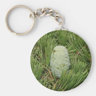Christmas Tree Pine Cone Key Chains
