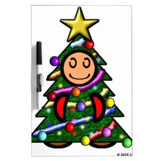 Christmas Tree (plain) Dry Erase Board