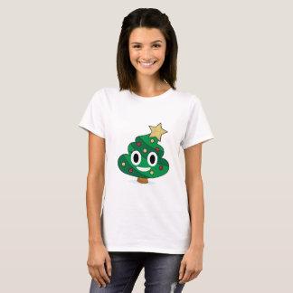 Christmas Tree Poop Emoji Women's T-Shirt
