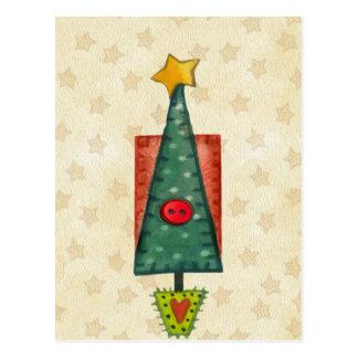 Christmas Tree Postcard