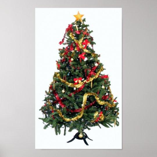 christmas tree. poster