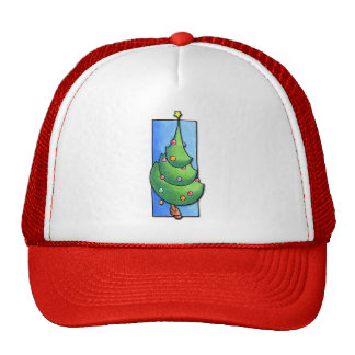 Christmas Tree red Hat